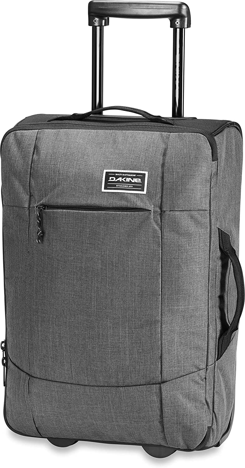 Dakine Unisex Carry On Eq Roller Luggage, Carbon, 40L