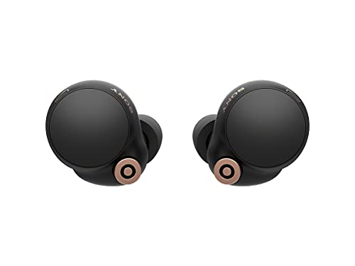 Sony WF-1000XM4 Industry Leading Noise Canceling Truly Wireless Earbud Headphones with Alexa Built-in, Black