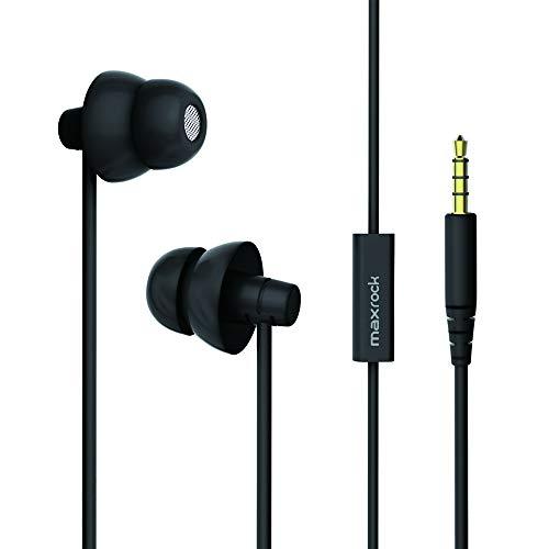 Best Cheap Earbuds For Sleeping: MAXROCK Sleep Earplugs