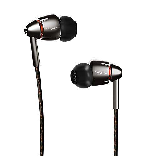 Runner Up, Best Wired Earbuds: 1MORE Quad Driver