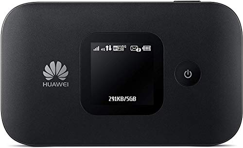 Huawei E5577Cs-321 4G LTE Mobile WiFi Hotspot (4G LTE in Europe, Asia, Middle East, Africa & 3G globally) Unlocked/OEM/ORIGINAL from Huawei WITHOUT CARRIER LOGO (Black)