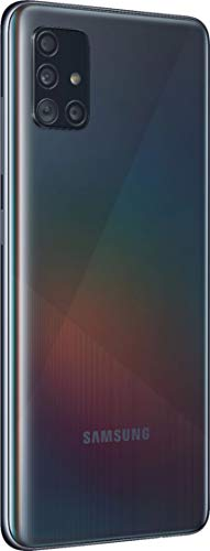 Samsung Galaxy A51 5G | A516U | 128GB | Single SIM | GSM Unlocked | Android Smartphone | Black (Renewed)
