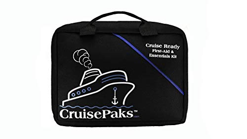 Cruisepaks Cruise Essentials First Aid and Medicine Travel Kit - 150 Pieces