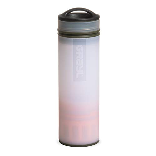 GRAYL Ultralight Water Purifier [+ FILTER] BOTTLE (Orange)