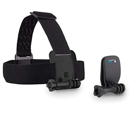 GoPro Head Strap + QuickClip (All GoPro Cameras) - Official GoPro Mount