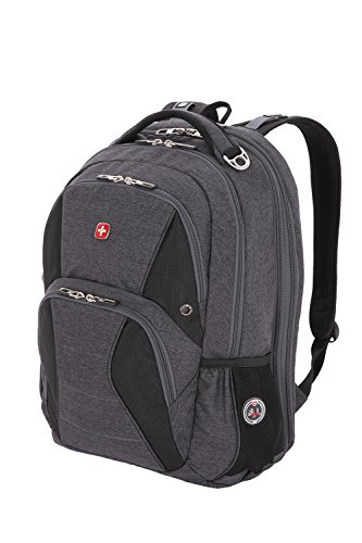 SwissGear SA1908 Slate Cement TSA Friendly ScanSmart Laptop Backpack - Fits Most 17 Inch Laptops and Tablets