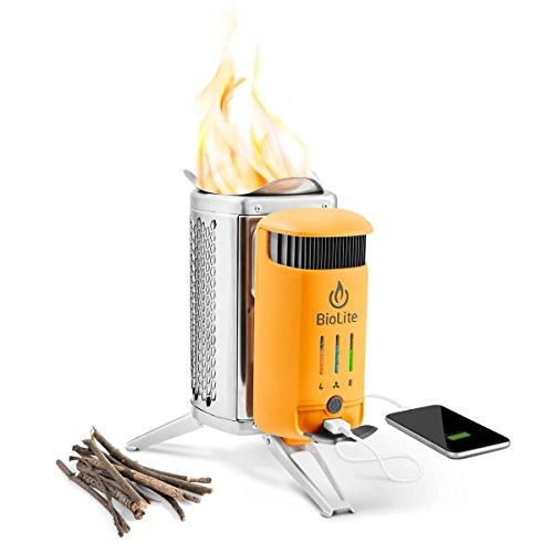Best Cooker-Battery Combo: BioLite Campstove 2
