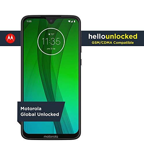 Moto G7 – Unlocked – 64 GB – Ceramic Black (US Warranty) - Verizon, AT&T, T-Mobile, Sprint, Boost, Cricket, & Metro