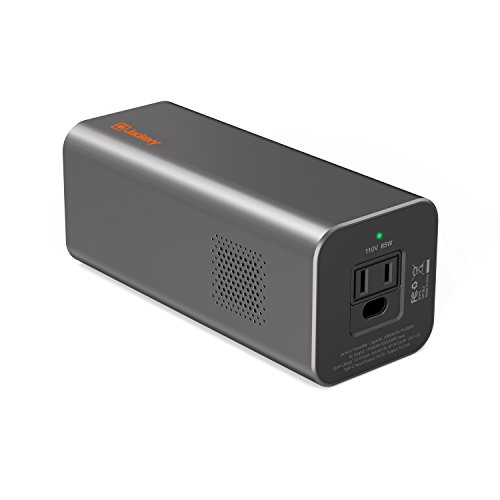 AC Outlet Portable Laptop Charger Power Outdoors(TSA-Approved), Jackery PowerBar 77Wh/20800mAh 85W (100W Peak) Travel Laptop Power Bank External Battery Pack for HP,Notebooks,MacBook and Other Laptops
