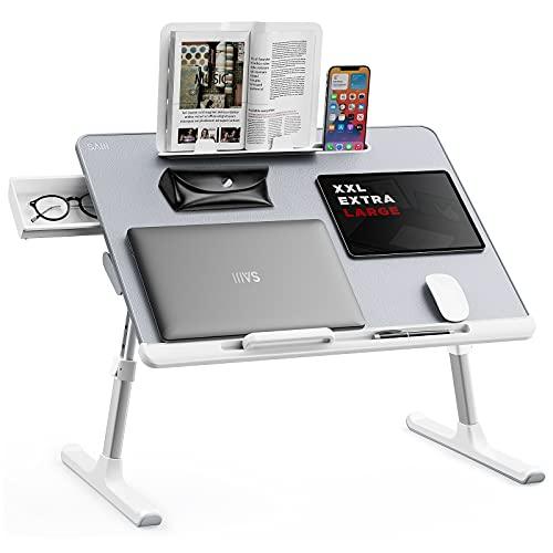 Best Spacious Lap Desk: SAIJI Laptop Stand