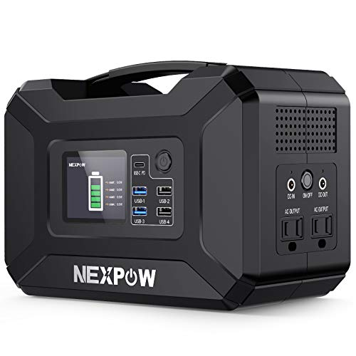 Best Battery Backup for CPAP: NEXPOW Portable Power Station