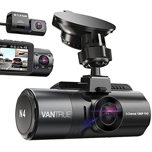 Best Dash Cam for Uber & Lyft Drivers: Vantrue N4