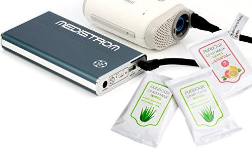 Best CPAP Battery for Travel:  Medistrom Pilot-24 Lite CPAP Battery