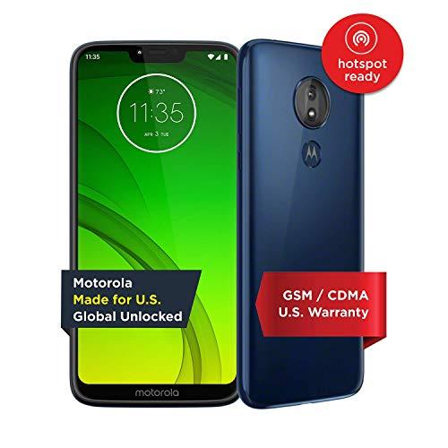 Motorola Moto G7 Power - Unlocked - 32 GB - Marine Blue (US Warranty) - Verizon, AT&T, T-Mobile, Sprint, Boost, Cricket, Metro