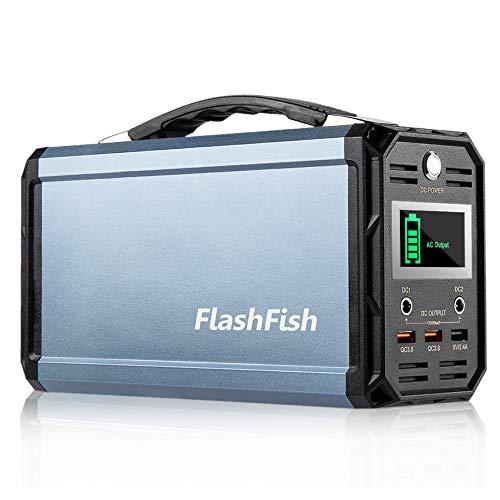 Best Portable Battery for CPAP Machine: FlashFish 300W Solar Generator