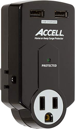 Best Travel Surge Protector: Accell Power Travel Surge Protector