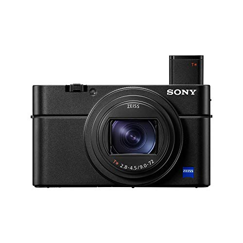 Sony RX100 VII Premium Compact Camera with 1.0-type stacked CMOS sensor (DSCRX100M7)