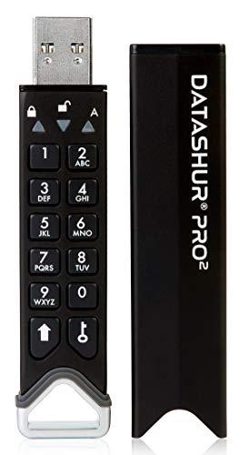 Best Password Protected USB Flash Drive: iStorage datAshur PRO 2