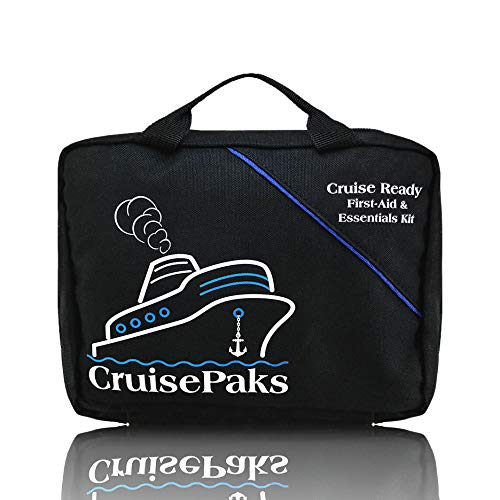 CruisePaks Cruise Essentials First aid & Medicine Travel Kit - 150 Pieces