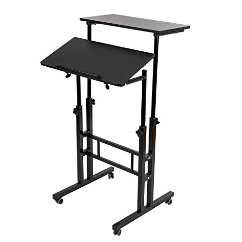 Best Small Standing Desk: SIDUCAL Mobile Stand Up Desk