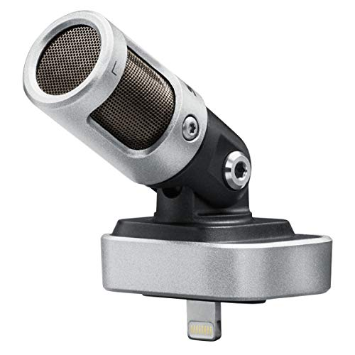 Best for iPhone: Shure MV88 Portable iOS Microphone