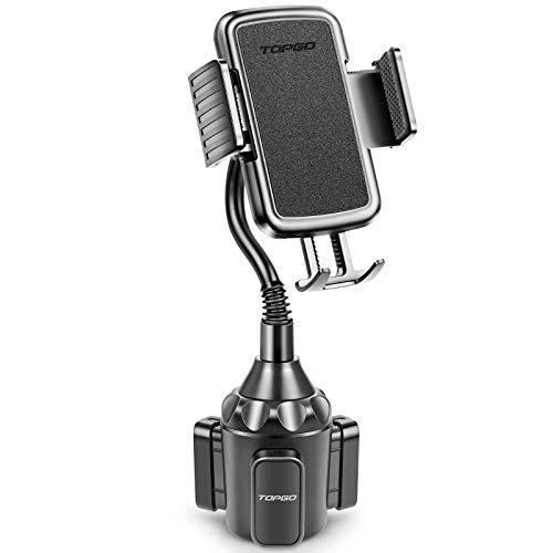 Best Car Cup Phone Holder: TOPGO Cup Holder Phone Mount