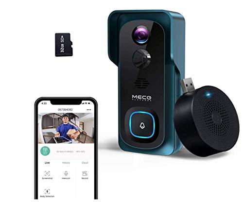 Best Doorbell Camera Without a Subscription: MECO