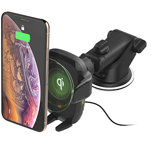 Best for Windscreen or Dashboard Mounting: iOttie Auto Sense Wireless Car Charger