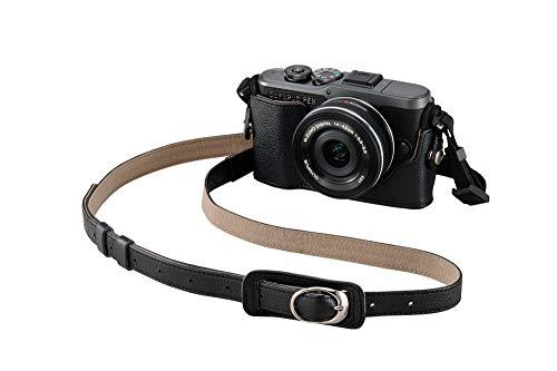 OLYMPUS PEN E-PL10 Black Camera Body with Black M.Zuiko Digital 14-42mm F3.5-5.6 EZ Lens, Camera Case, Lens Cloth & SD Card
