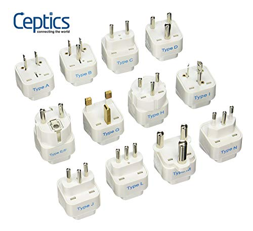 Best for Going Anywhere: Ceptics GP-12PK Plug Set