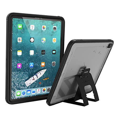 Catalyst Waterproof iPad Case for iPad Pro 12.9' 2018 Waterproof 6.6 ft - Full Body Protection, Heavy Duty Drop Proof 4ft, Kickstand, True Acoustic Sound Technology, Built-in Screen Protector