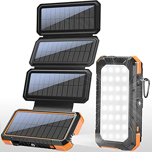 Best Overall Portable Solar Charger: BLAVOR Solar Charger Power Bank