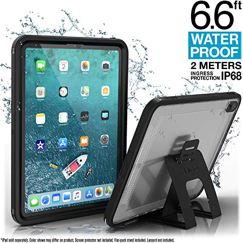 Catalyst Waterproof iPad Case for iPad Pro 11' 2018 Waterproof 6.6 ft - Full Body Protection, Heavy Duty Drop Proof 4ft, Kickstand, True Acoustic Sound Technology, Built-in Screen Protector