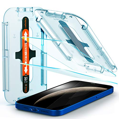 Best Easy to Install Screen Protector for iPhone: Spigen Tempered Glass Screen Protector