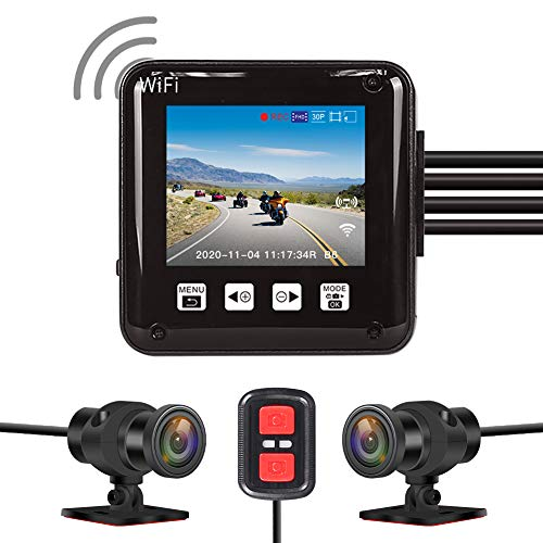 Best Motorcycle Dash Cam: VSYSTO Waterproof Dash Cam