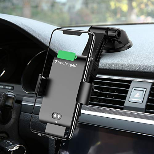 Best Wireless Charging Car Phone Holder: Mankiw Wireless Car Charger