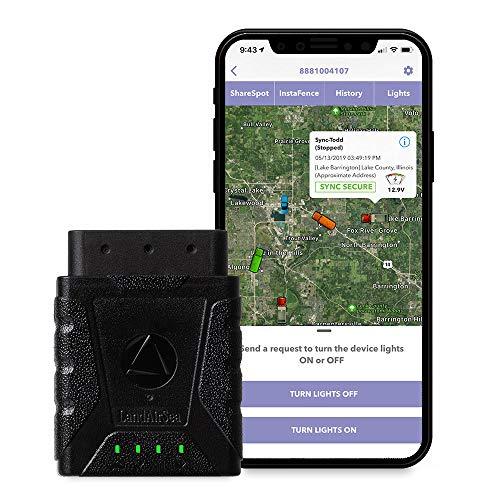 Best Cheap GPS Tracker for Cars:  LandAirSea Sync GPS Tracker