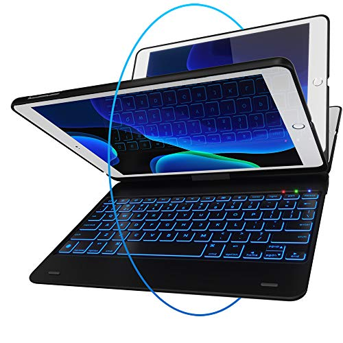 Best for Smaller iPad Pros: YEKBEE iPad Keyboard Case