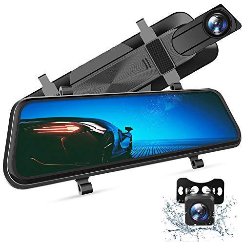 Best Mirror Dash Cam: VanTop H610