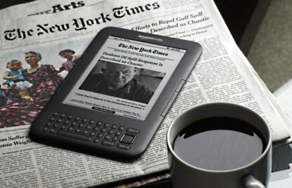 Kindle on NYT