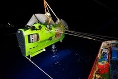 DeepSea Challenger launch