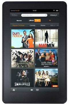 Kindle Fire - movies