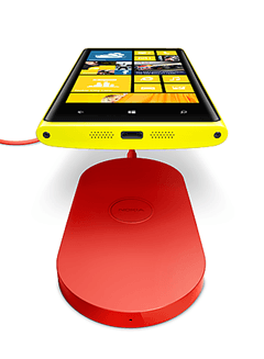 Nokia Lumia 920 - wireless charging