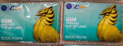 Myanmar SIM card