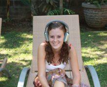 Lauren Monster headphones