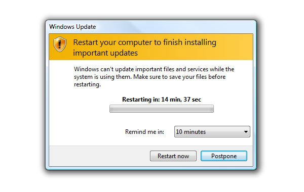 The Dreaded Windows Update Shutdown Screen