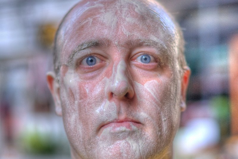 Gary - painted face