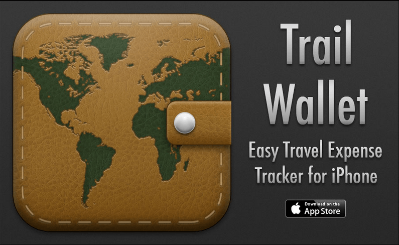 Trail Wallet iPhone app