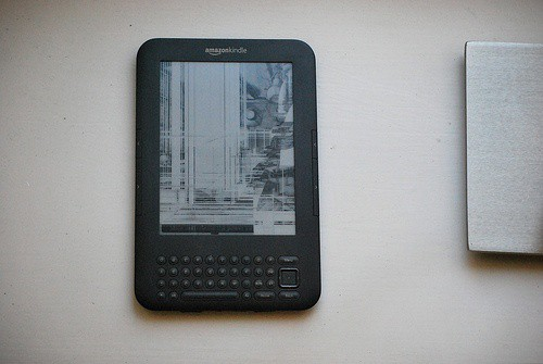 Broken Amazon Kindle screen