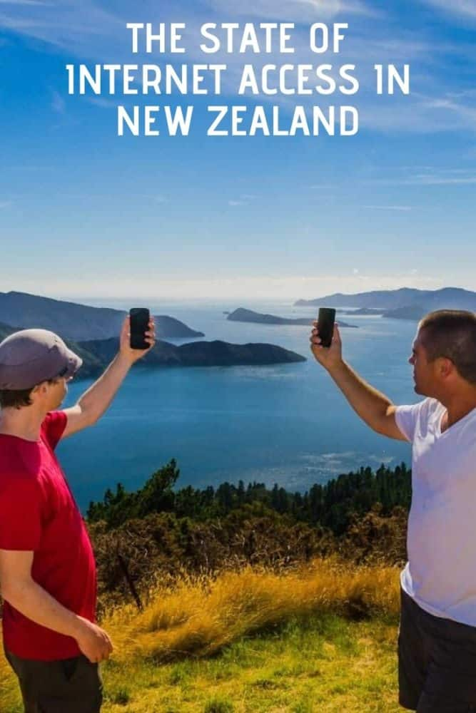 The state of internet access in New Zealand